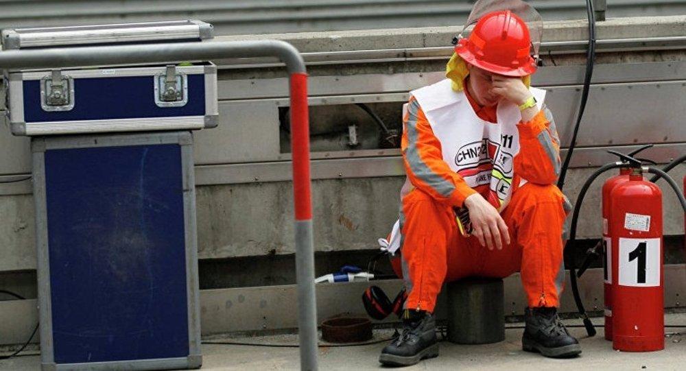 中国消防员 (资料图片)