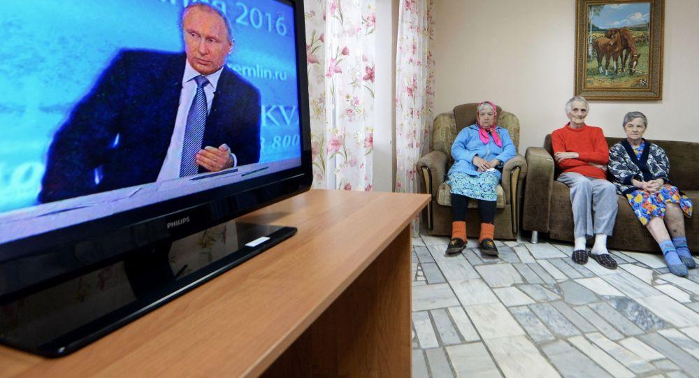 普京直播连线节目已接到超过130万问题