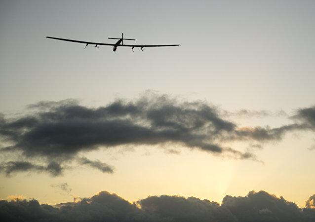 阳光动力2号太阳能飞机穿越太平洋抵达加利福尼亚