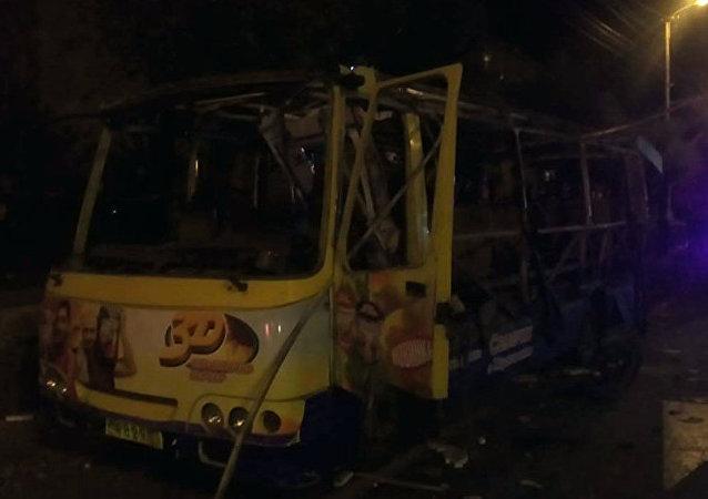 埃里温一辆公共汽车发生爆炸