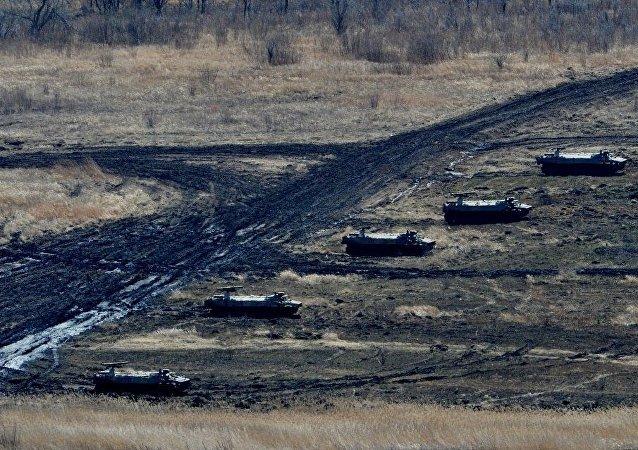 俄东部军区部队将进行长距离行军