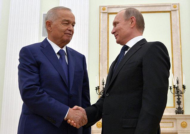 卡里莫夫与普京