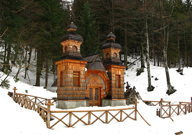 圣弗拉基米尔俄罗斯小教堂