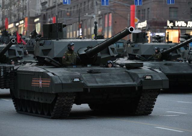 阿玛塔坦克将参加5月9日红场阅兵
