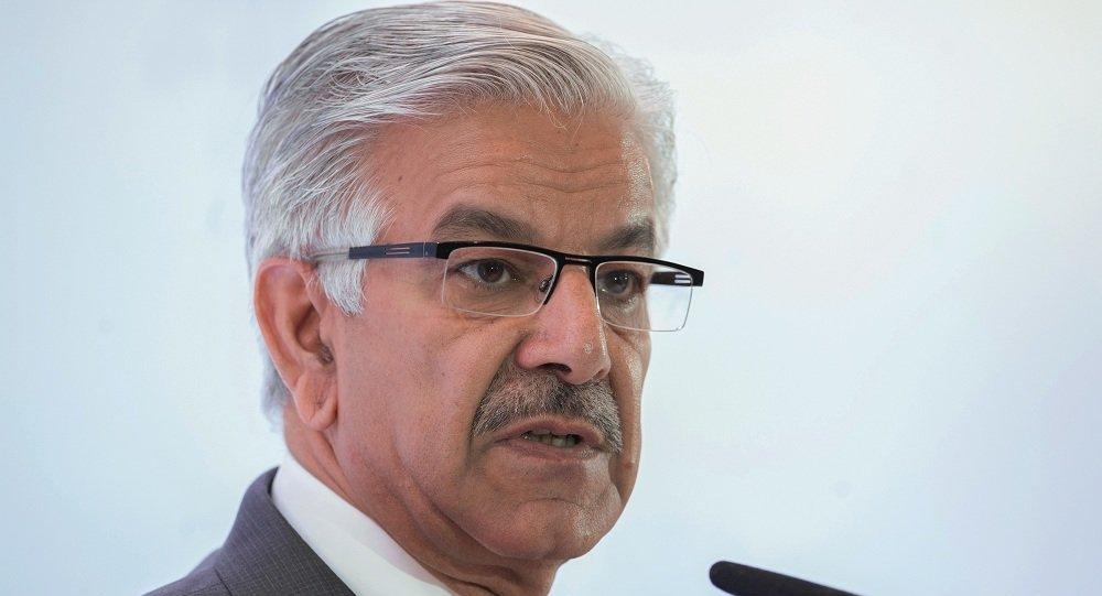巴基斯坦国防部长赫瓦贾•阿西夫