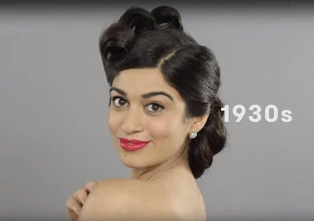叙利亚女人百年之美