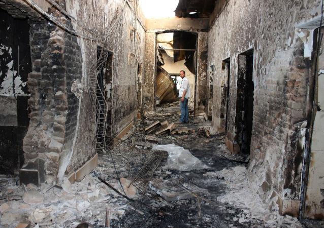 美国防部:美军轰炸昆都士医院系误炸