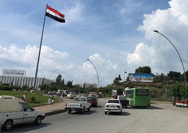 叙利亚政府军证实大马士革郊区安静制度延续24小时