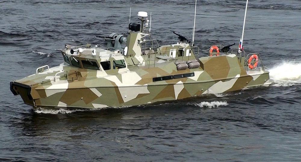 """""""猛禽""""级高速巡逻艇"""