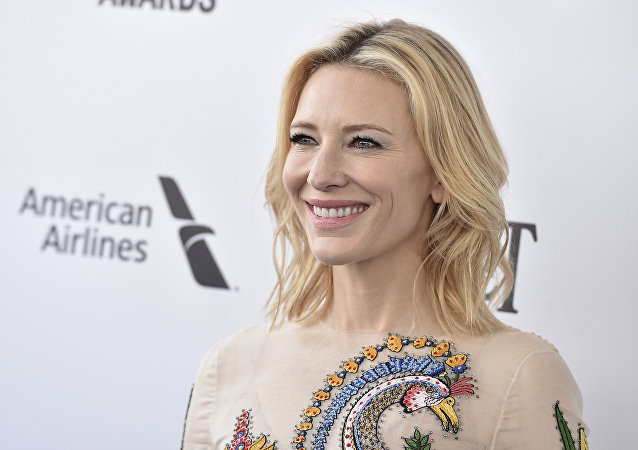 演员凯特·布兰切特成为联合国难民署亲善大使