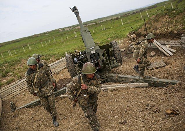 阿塞拜疆国防部:过去一昼夜内纳卡发生120起破坏停火行为