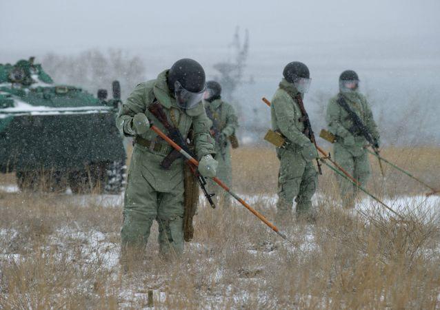 俄东部军区工兵5月将排查面积近乎莫斯科大小范围