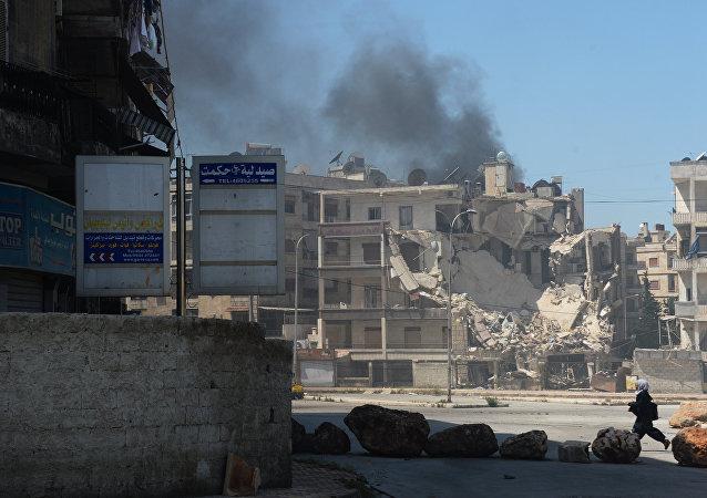 媒体:叙中部大型发电站遭恐怖分子炮击严重损毁