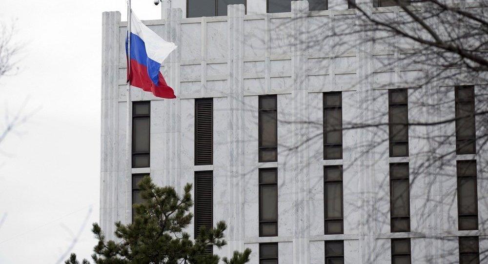 俄使馆向美国务院寻求有关似有俄公民在美遇害的详情