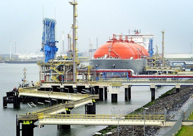 液化天然氣的出口(資料圖片)