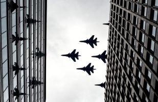 空軍勝利日遊行彩排