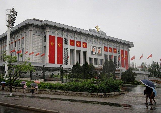 朝鲜执政党1980年来首次代表大会开幕 外国记者未能出席
