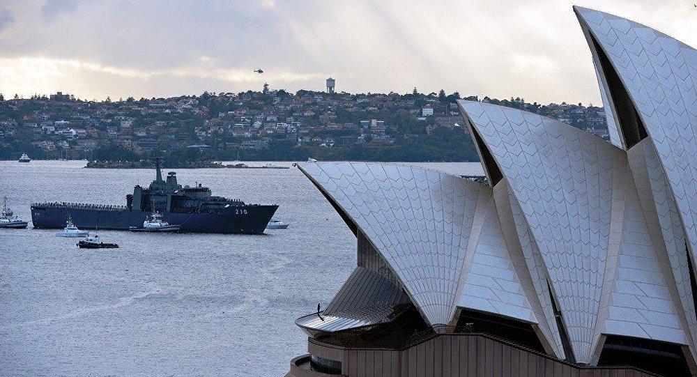 """媒体:澳大利亚很有可能成美""""第一舰队""""重要基地"""