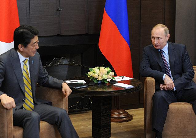 日本首相:希望与俄总统讨论和平条约及经济与国际问题