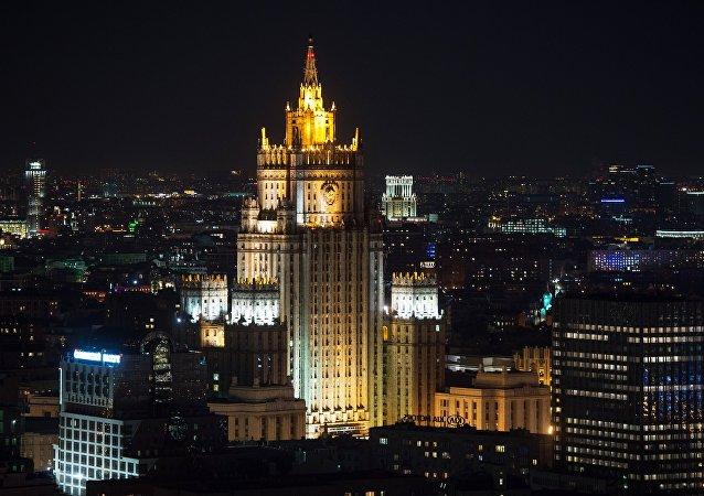 俄外交部向比利时大使出示该国空军牵扯叙轰炸事件的证据