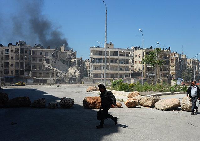 1000多人组成的武装团伙进攻叙武装军队在阿勒颇附近的阵地