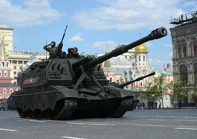 """MSTA-S""""自行火炮"""