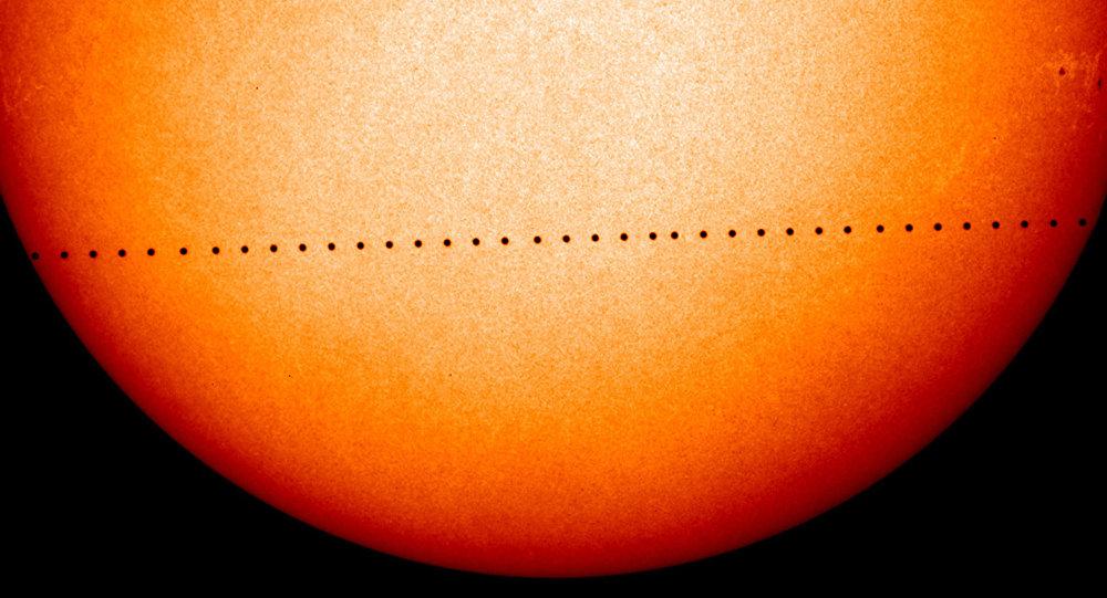 迷你日食:胜利日可见水星凌日