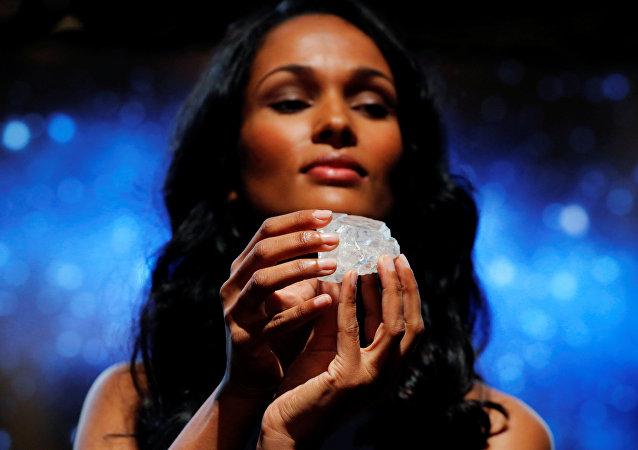 1109克拉的Lesedi la Rona钻石