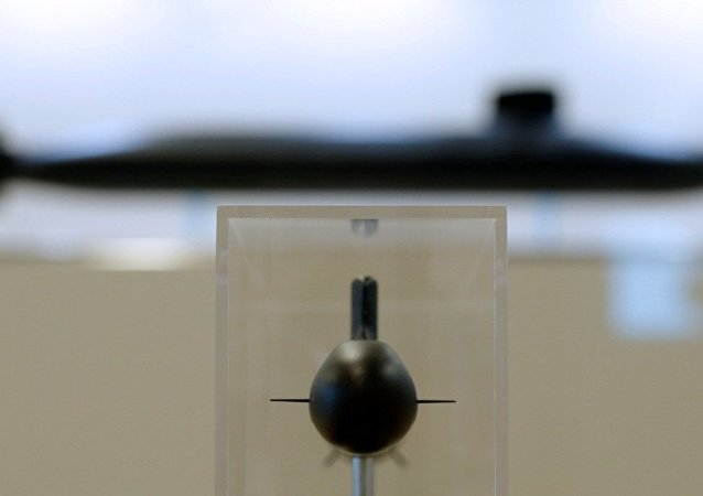 潜艇的模型