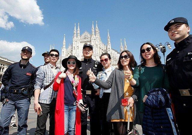 UNWTO:2015年中国游客的境外消费额增加四分之一