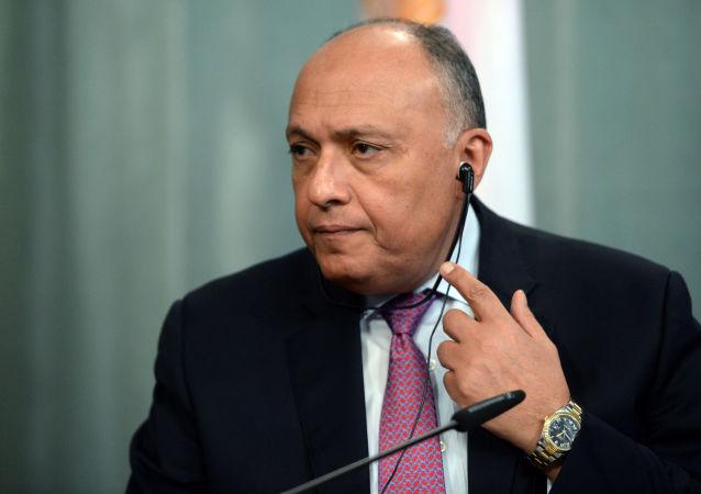 埃及外长萨迈赫·舒凯里