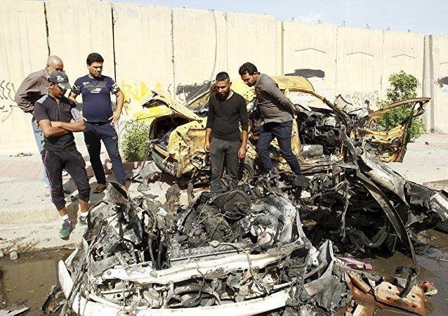 爆炸在巴格达