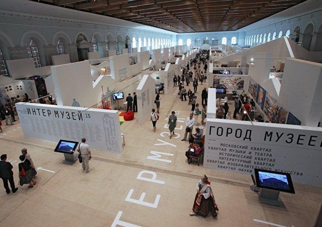 """中国与伊朗将首次参加莫斯科""""联合博物馆""""节"""