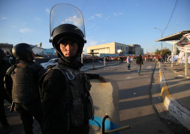 巴格达警察(资料图片)