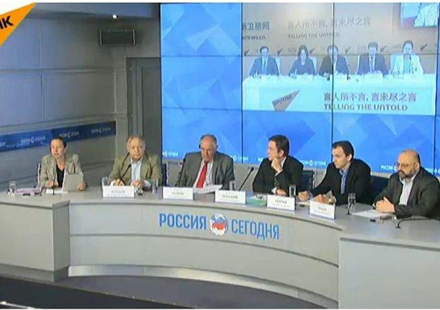 莫斯科-北京视频连线会议:全球经济改革
