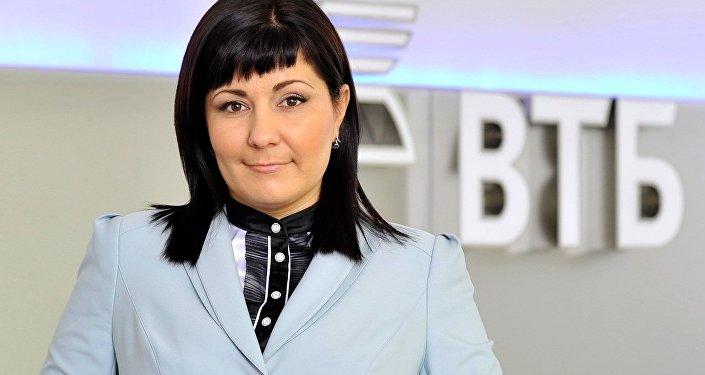 外貿銀行駐布拉戈維申斯克營業處負責人尤利婭·季申科