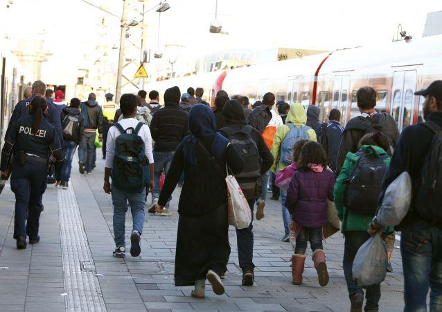2017年将会有20-30万难民进入德国