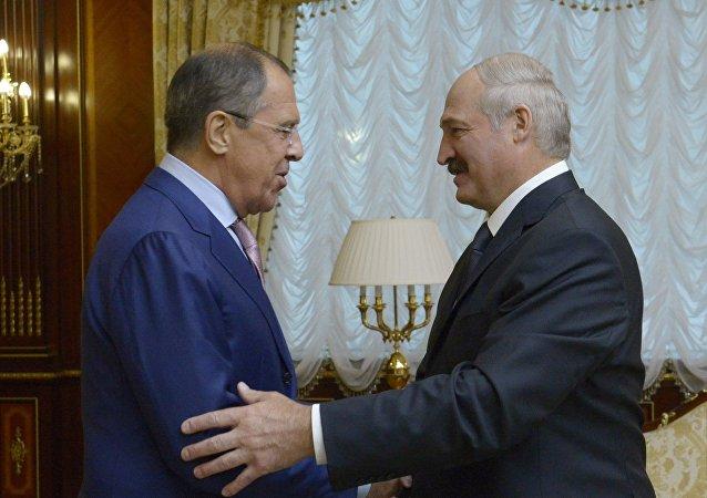 俄外长拉夫罗夫将在白俄罗斯会见卢卡申科总统