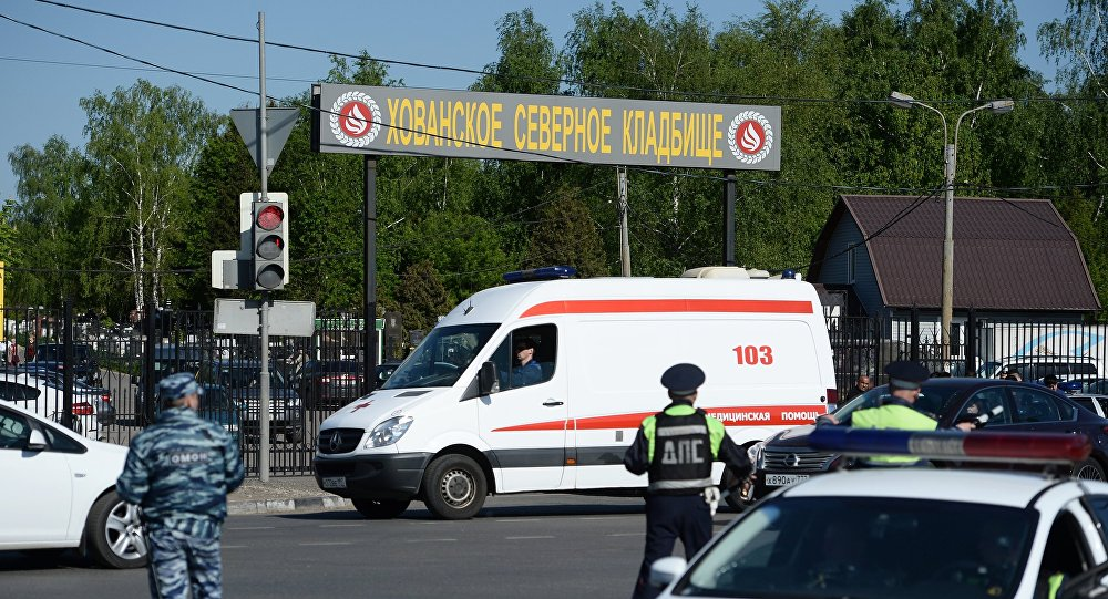 莫斯科霍萬斯基陵園發生的事件