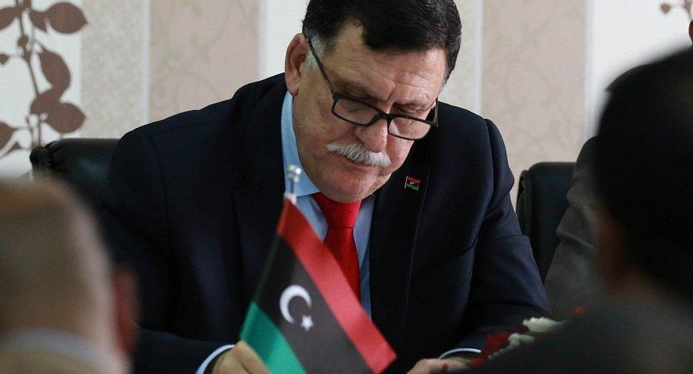 利比亚民族团结政府总理法伊兹·萨拉杰