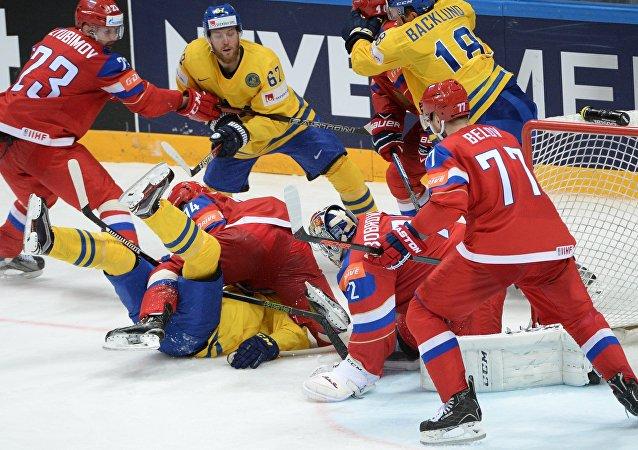 俄罗斯杀入冰球世锦赛八强