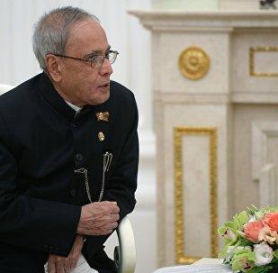 印度总统普拉纳布·慕克吉