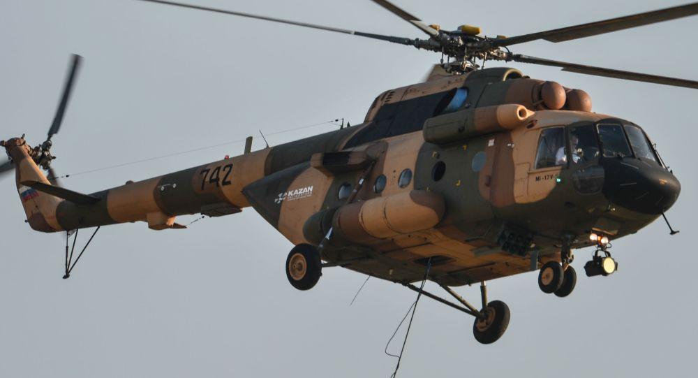 米-17B-5型直升机