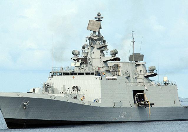"""""""萨特普拉""""号(INS Satpura)导弹隐形护卫舰"""