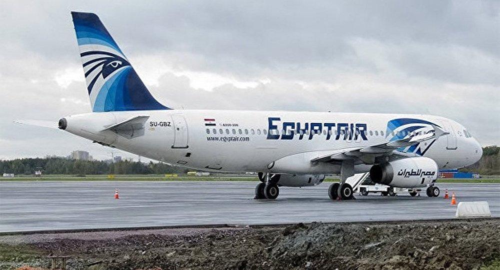 一架从巴黎飞往开罗的埃及航空公司ms804航班,5月19日早上在地中海