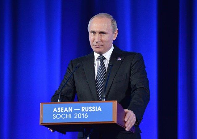 普京:俄罗斯 – 东南亚国家联盟宣言把将伙伴关系提升到新高度作为目标