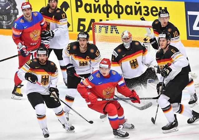 俄罗斯队4:1战胜德国队