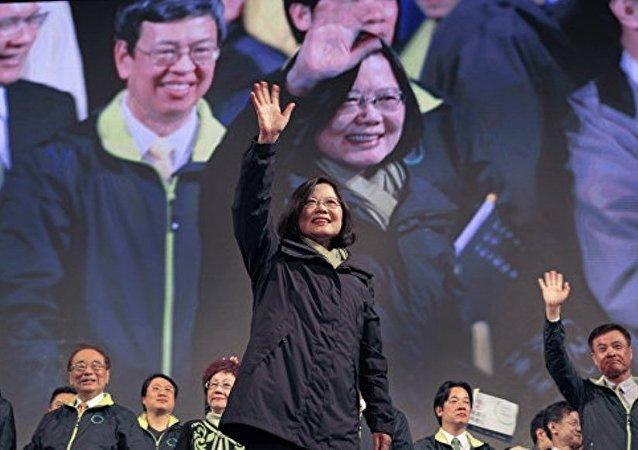 台湾新领导人蔡英文