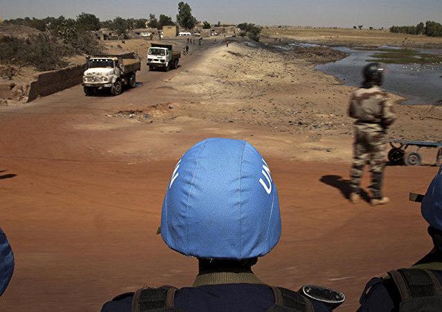 联合国维和部长级会议上呼吁将维和部队中的女性人数提高一倍