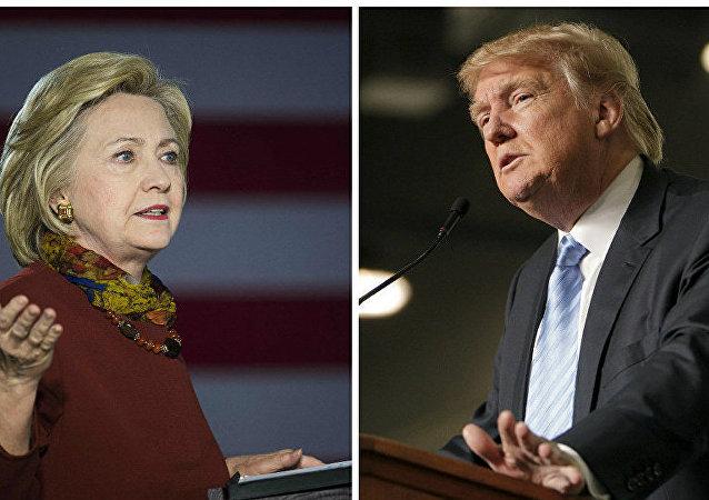 特朗普:如果媒体如实报道其竞选活动 他会领先希拉里20%